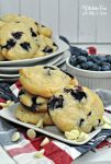 Blueberry White Chocolate Cookies