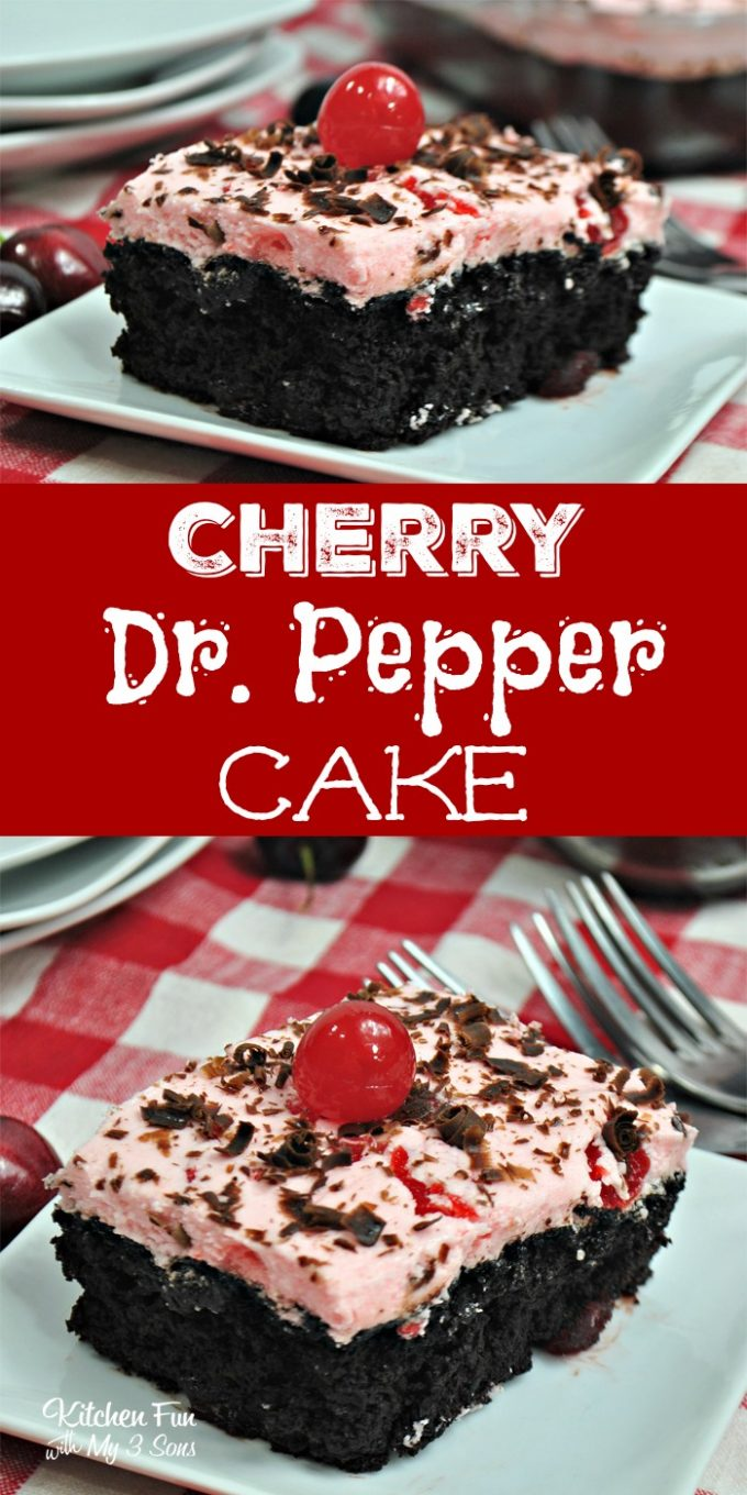 Cherry Dr Pepper Cake