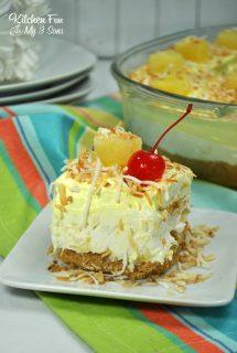 No-Bake Pineapple Dream Dessert