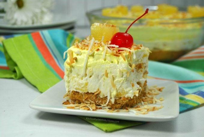 Pineapple Cheesecake Dessert