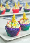 Unicorn Sugar Cookie Cups