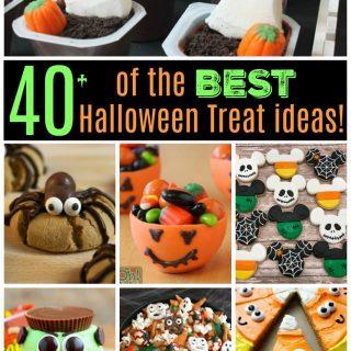 Over 40 of the BEST Halloween Treat ideas!