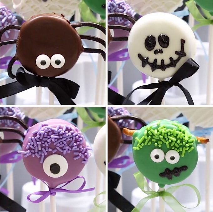 Halloween Oreo Pops - BEST Halloween Treat ideas!