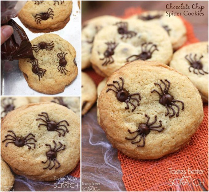 Spider Cookies - BEST Halloween Treat ideas!