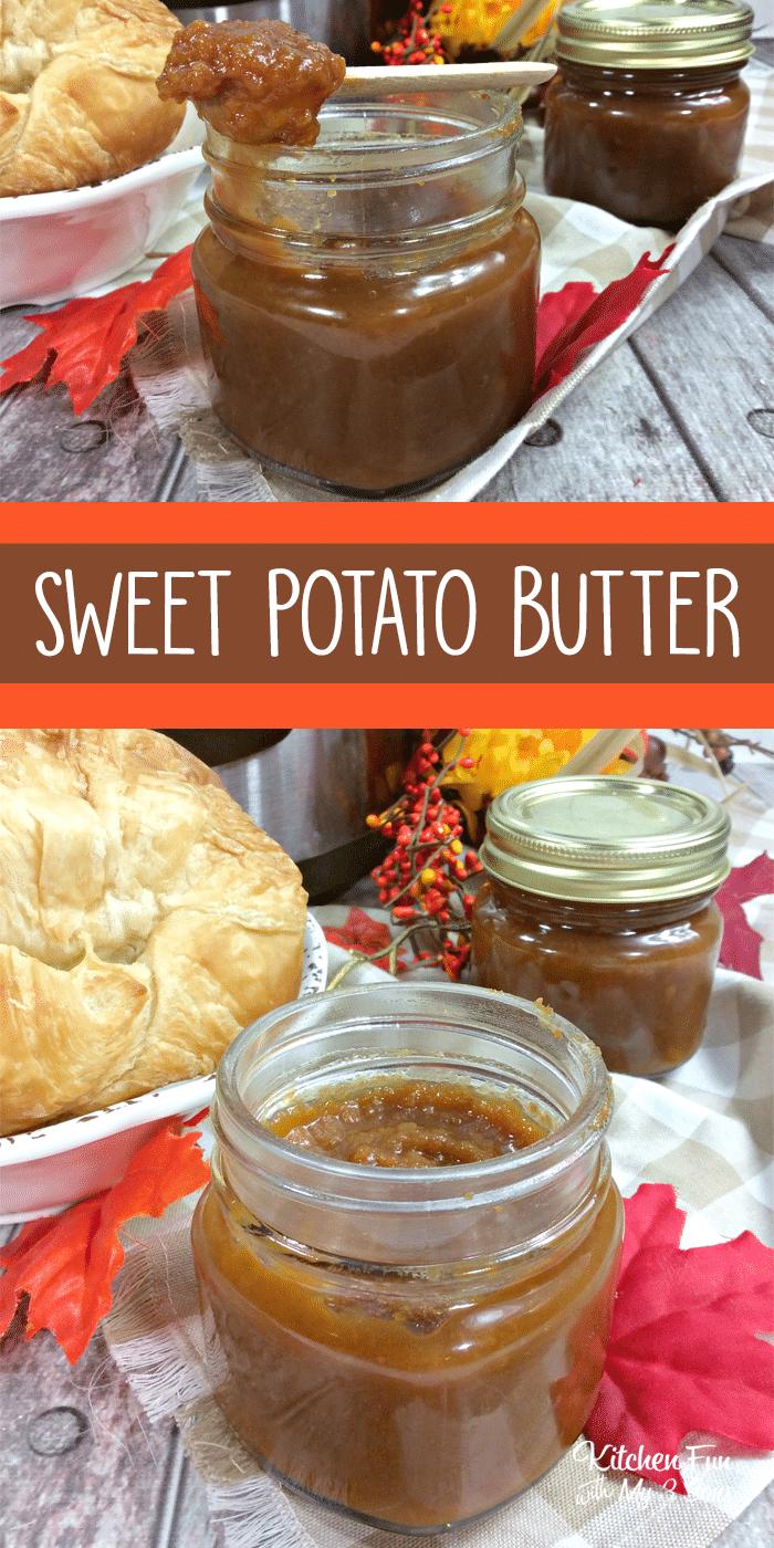 Instant Pot Sweet Potato Butter