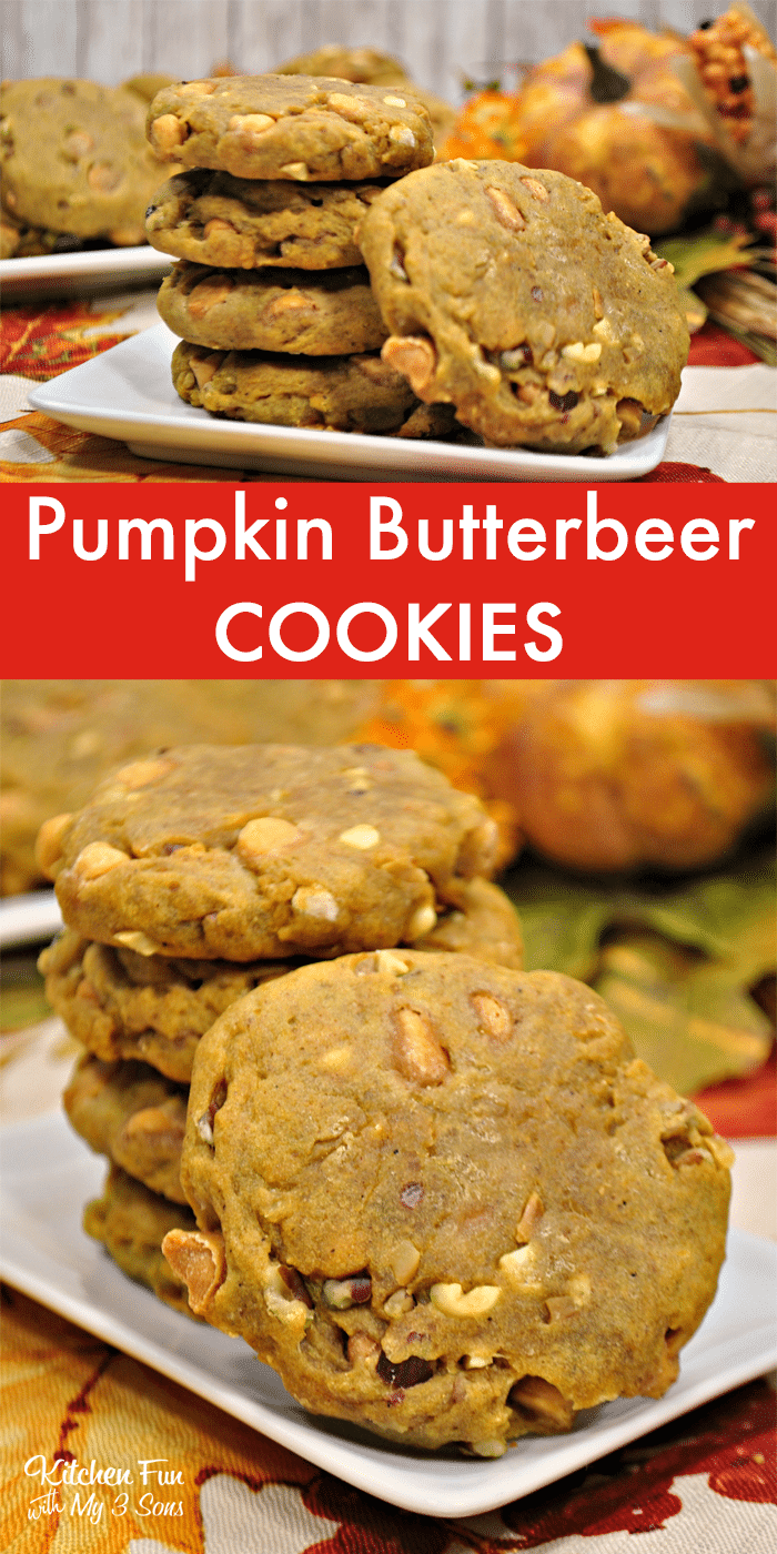 Pumpkin Butter Beer Cookies