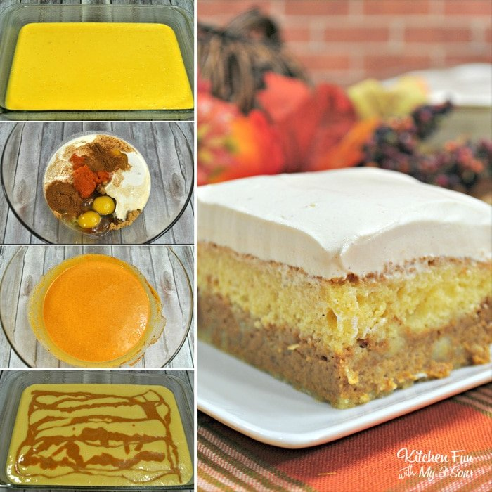 Pumpkin Magic Cake