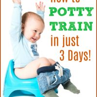 How to Potty Train in 3 Days!