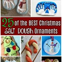 25 of the BEST Christmas Salt Dough Ornaments