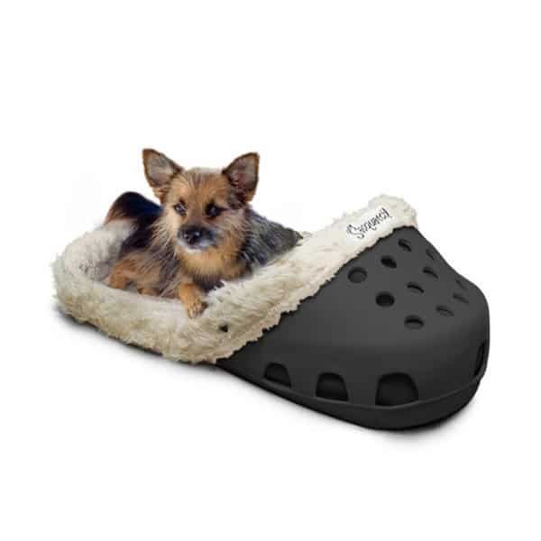Shoe Shaped Dog Bed For Dogs That Love Slippers