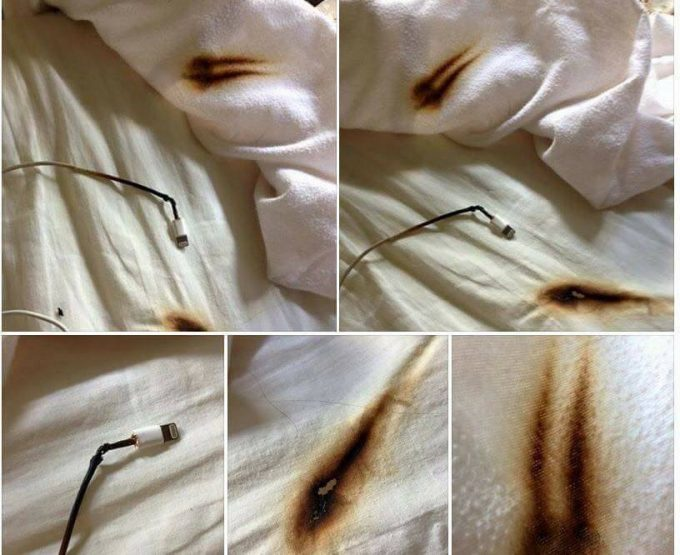 Firefighters warn about cell phone chargers