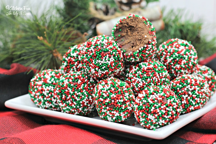 Boozy Christmas Chocolate Truffle | Delicious Christmas treat for adults!