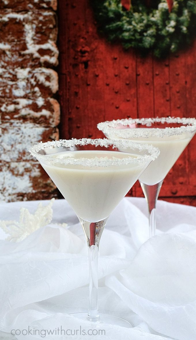 Christmas Snowflake Martini