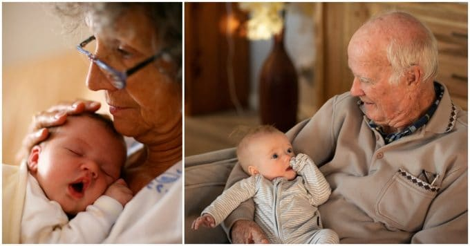 Studies confirm - Grandparents that babysit live longer