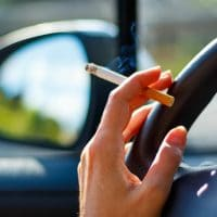 Parents who smoke with kids in the car could be charged up to 2,000 in fines!