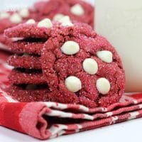 Red Velvet Valentine Cookies are a great dessert to make for the holiday. These cookies are moist and chewy just like a good cookie should be!