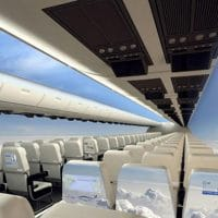Clear Windowless Plane