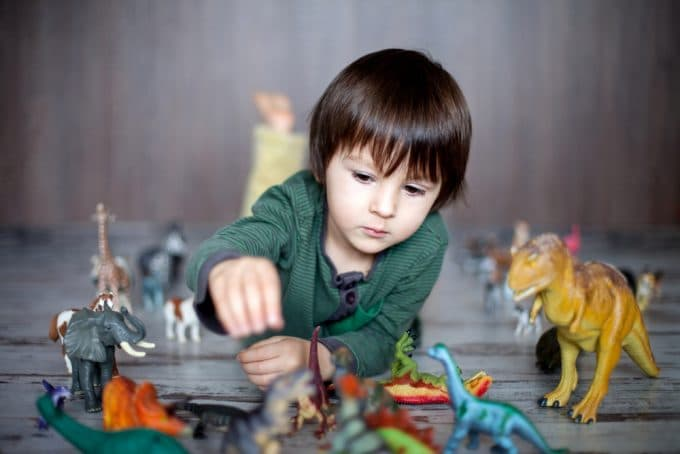 Dinosaur Obsession enhances kids' intelligence