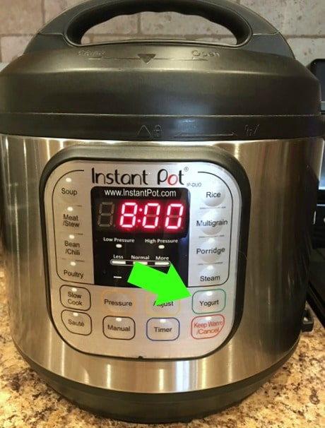 Instant Pot Buttons for Beginners
