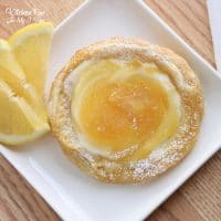 This Lemon Cream Cheese Danish recipe is a scrumptious breakfast with the taste of fresh lemon, the richness of cream cheese, and the fluffiness of wonderful puff pastry.