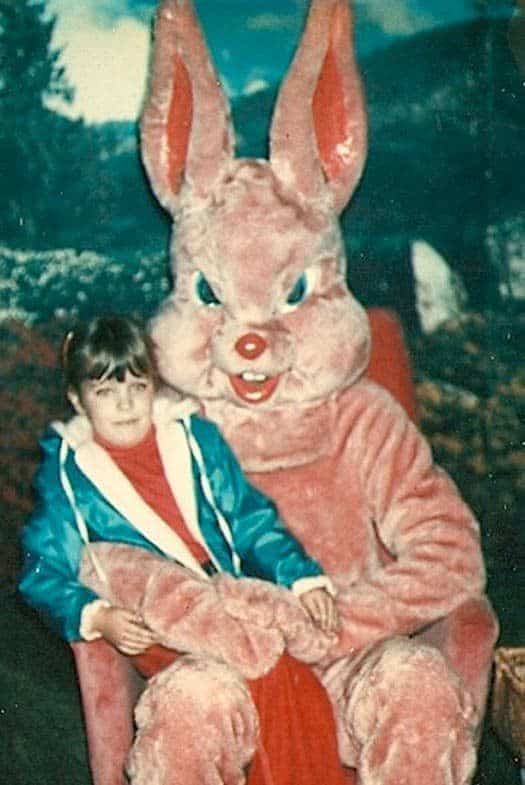 Creepy Easter Bunnies