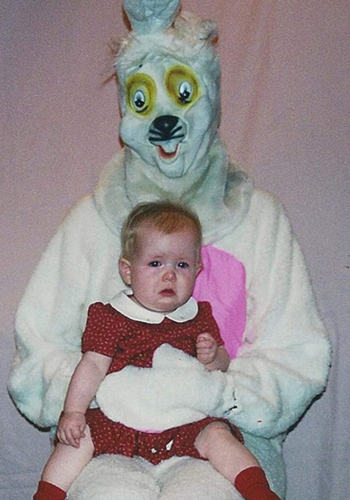 15 terrifying and creepy easter bunnies
