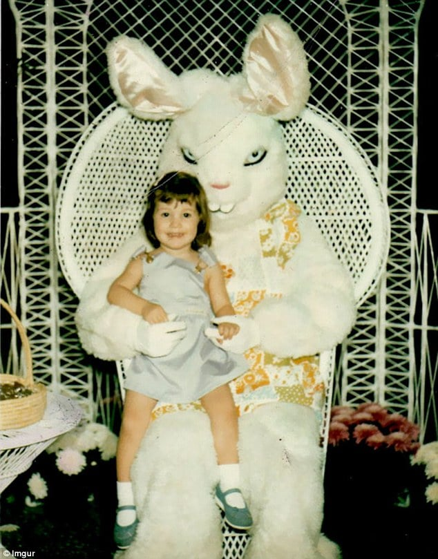 Creepy Easter Bunnies that will make your skin crawl