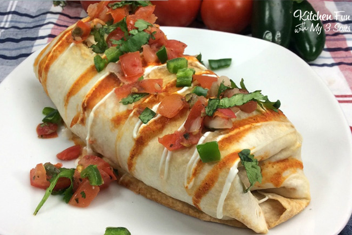 "Air Fryer Chimichangas. Rotisserie chicken and the air fryer make these ""grilled"" chimichangas a quick weeknight dinner."