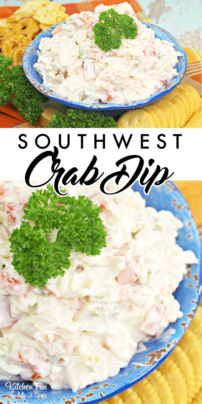 Southwest Crab Dip