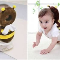 Bee Head Protector Backpack for Babies