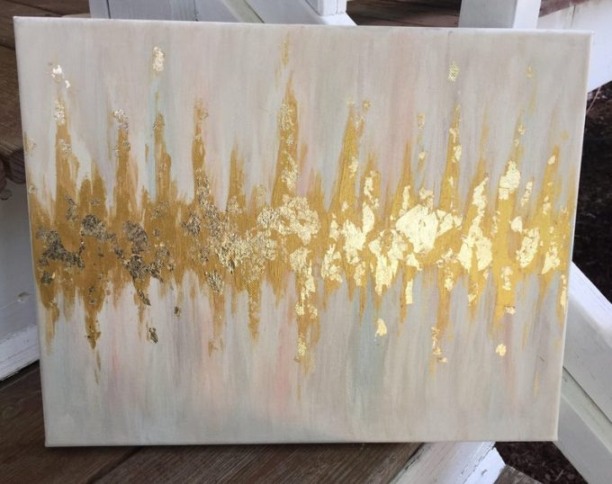 Baby Heartbeat Painting