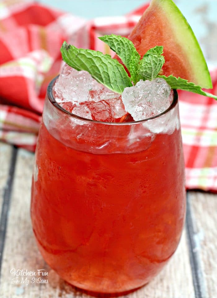 When it's hot out and your friends insist on an outdoors get together, you'll be glad to have this recipe for an ice cold Watermelon Hammer cocktail.