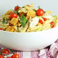 Chicken Caesar Pasta Salad Recipe