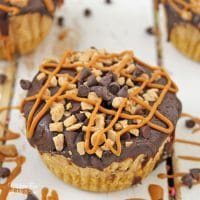 Chocolate Peanut Butter Pie Cups are no bake, easy to assemble, and taste amazing. If you're a peanut butter lover this dessert is for you!