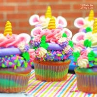 Colorful Unicorn Cupcakes