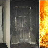 Close Your Door Fire Safety