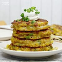 This recipe for corn fritters has a nice little crunch with a big, flavorful taste.