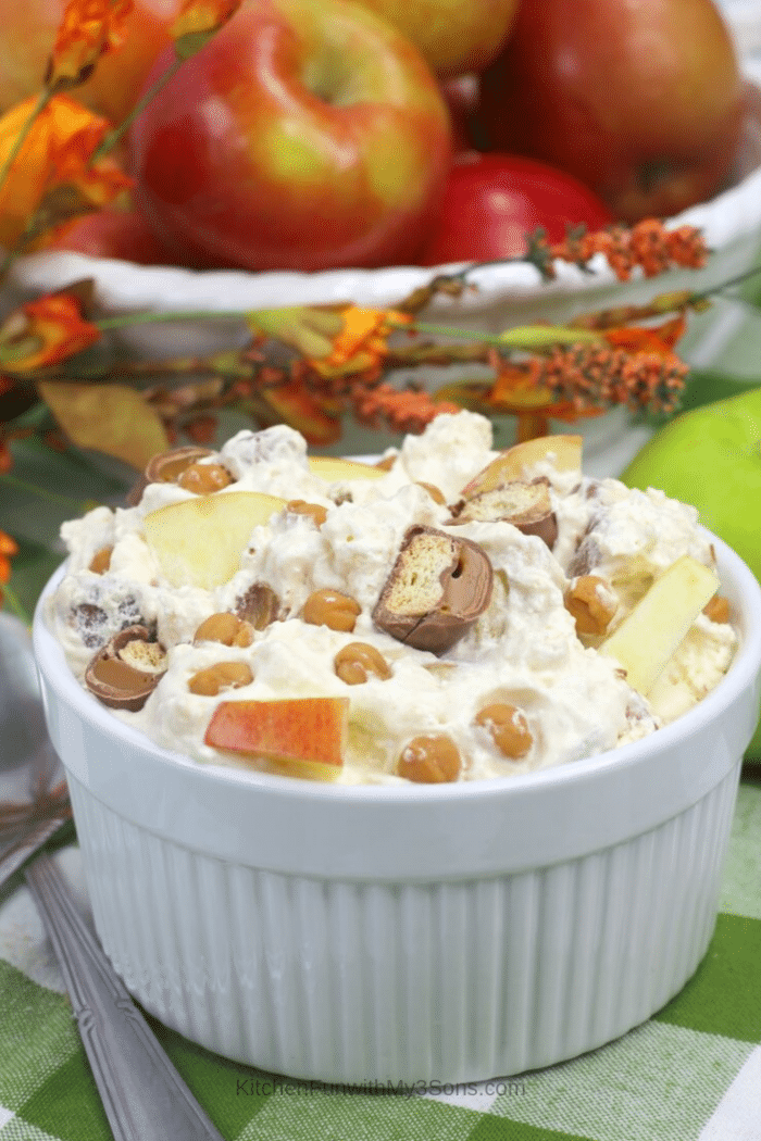 Twix Caramel Apple Salad recipe