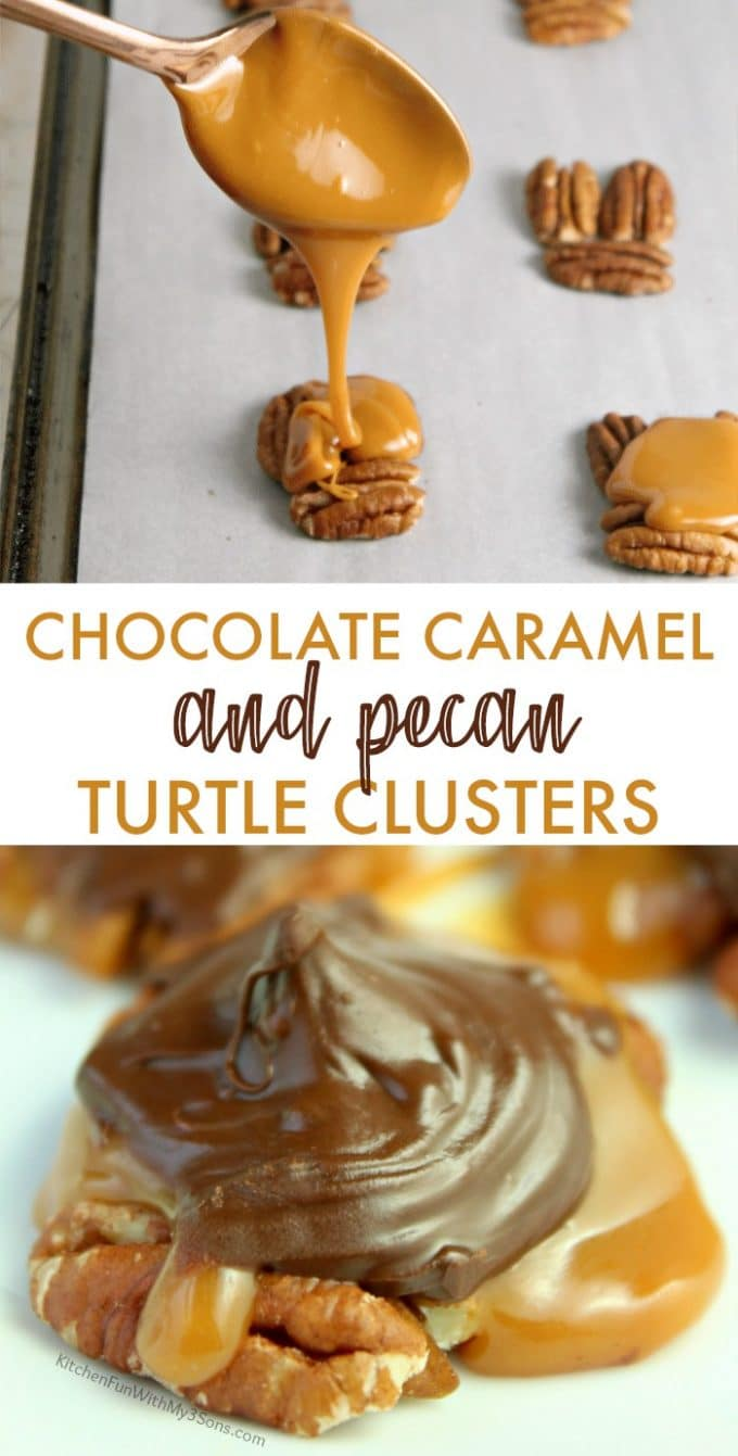 Chocolate Pecan Turtle Clusters Recipe