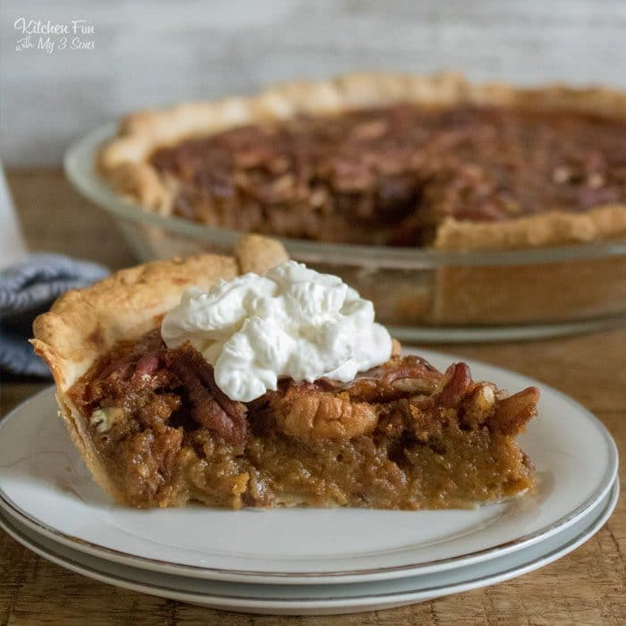 Pumpkin Pecan Pie is the fall dessert mashup of my dreams! This Thanksgiving dessert combines two of the most popular pies and is such a hit.