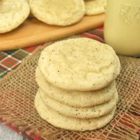 The Eggnog Cookies are the absolute best recipe. They're soft, chewy and full of cinnamon flavor. Better yet, they're simple to make. These will be a huge hit at your holiday parties or cookie exchanges!