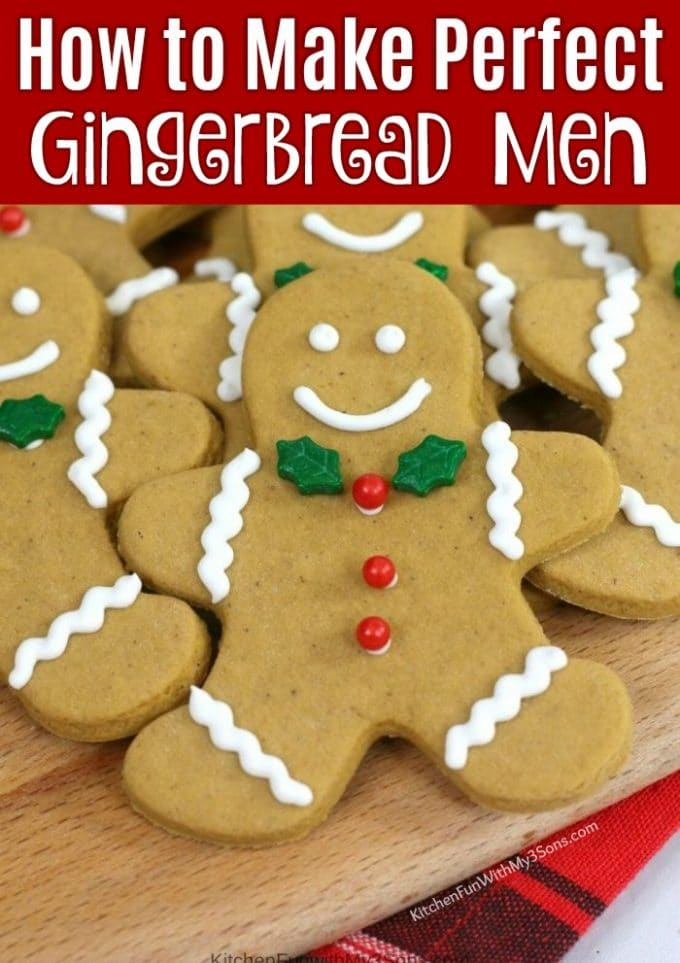 How to Make Perfect Gingerbread Men