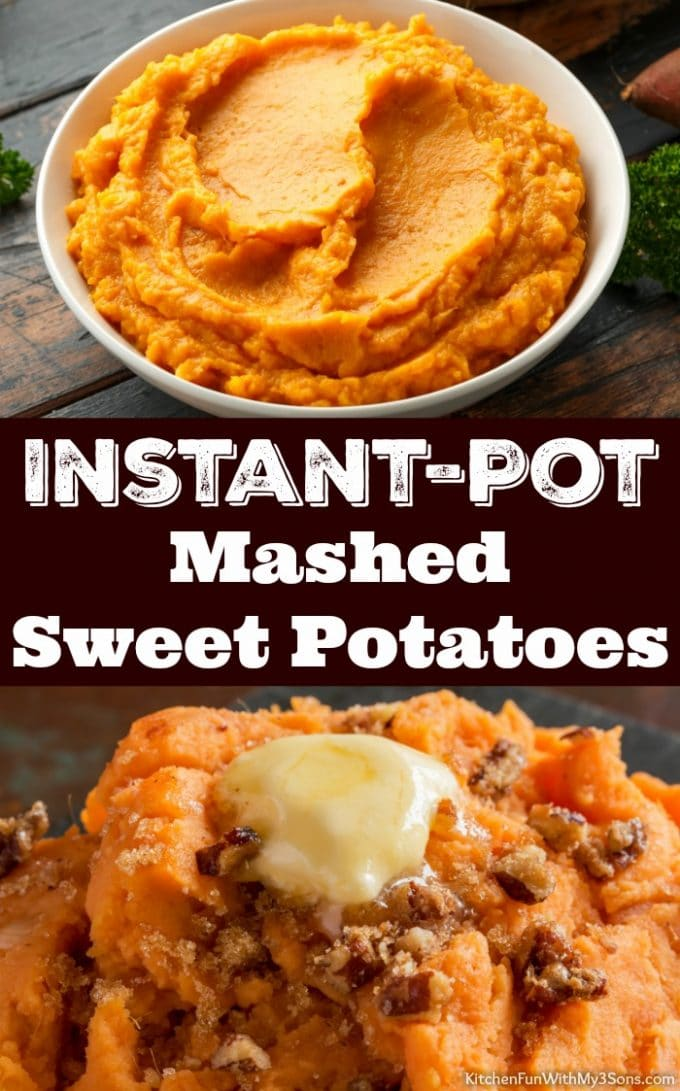 Instant-Pot Mashed Sweet Potatoes