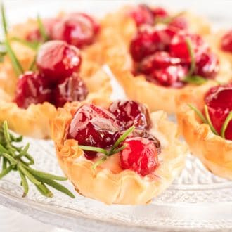 Cranberry Brie Appetizer