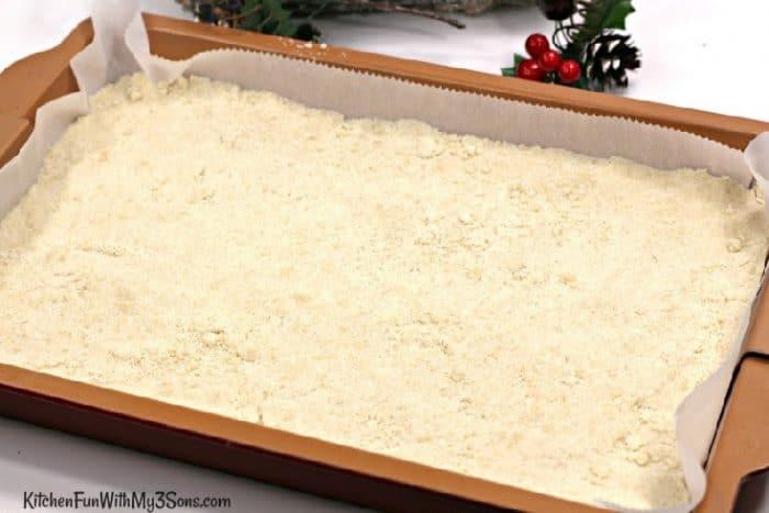 Cranberry bars crust
