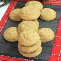 Eggnog Snickerdoodles are like a cross between your favorite snickerdoodle recipe with a big glass of eggnog. It's a sugary sweet holiday cookie to enjoy this winter!