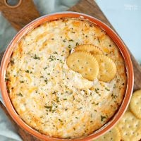 Cheesy Hot Crab DIp