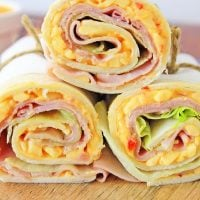 Ham and Pimento Cheese Sandwich Wrap