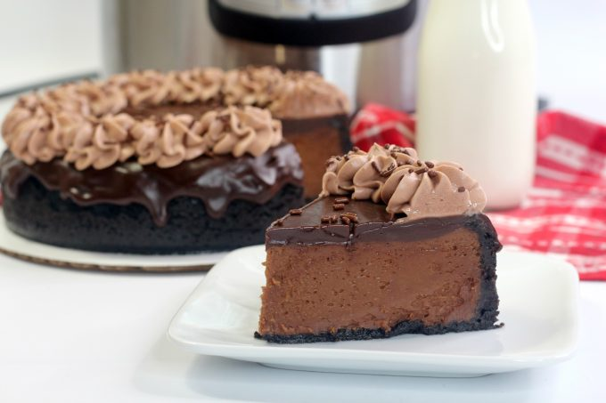 IP Chocolate Cheesecake with Nutella