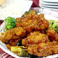 Instant Pot Copycat Chinese Orange Chicken Recipe